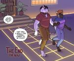 2015 anthro bulge bull_terrier butt butt_grab canine chrimson clothing comic dialogue dog duo english_text fox hand_on_butt male male/male mammal meesh peable text  Rating: Safe Score: 34 User: sai_jay Date: September 07, 2015