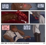 blush boss cat comic cum cum_in_mouth cum_inside deep_throat equine erection feline fellatio james_howard male male/male mammal max neck_bulge office oral penetration penis sex suit  Rating: Explicit Score: 2 User: onilink0 Date: October 10, 2015