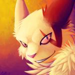 2013 abstract_background ambiguous_gender ears_back fur grin headshot_portrait long_mouth looking_at_viewer mammal neck_tuft nintendo no_sclera pokémon portrait purple_eyes ratte red_nose red_sclera simple_background slit_pupils snout solo tuft video_games white_fur zangooseRating: SafeScore: 32User: terminal11Date: December 25, 2013