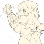 canine clothing dog dusterbook female kohakyu8513 maid_uniform mammal monochrome poodle sketch solo uniform  Rating: Safe Score: 2 User: slyroon Date: February 04, 2016