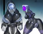 alien bent_over big_breasts breasts butt butt_grab daro'xen_vas_moreh female mass_effect presenting presenting_hindquarters pussy quarian suit tali'zorah_nar_rayya teqa   Rating: Explicit  Score: 16  User: Marine  Date: February 01, 2014
