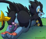 anus butt comic duo female feral hindpaw kuroodod luxray master_pet nintendo oral paws pokémon pussy rattata size_difference tail_maw trapped video_games  Rating: Explicit Score: 29 User: Kuroodod Date: September 23, 2015