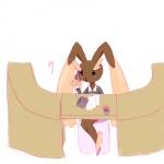 anthro blush female lagomorph lopunny mammal nintendo paper phone pokémon rabbit secretary solo unknown_artist video_games   Rating: Safe  Score: 3  User: Juni221  Date: August 29, 2013
