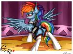 2015 absurd_res alternate_hairstyle anus blue_fur blush butt clothing dock equine female feral friendship_is_magic fur hair hair_bow hi_res legwear maid maid_uniform mammal multicolored_hair my_little_pony neko-me pegasus photo pink_eyes ponytail pussy pussy_juice rainbow_dash_(mlp) rainbow_hair rainbow_tail solo spread_wings thigh_highs wings  Rating: Explicit Score: 11 User: ultragamer89 Date: September 21, 2015