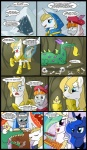 armor blonde_hair blue_eyes blue_fur bone bow_tie cave clothed clothing comic crackle_(mlp) dialogue dragon english_text equine female feral friendship_is_magic fur green_scales group hair horn horse madmax magic male mammal multicolored_hair my_little_pony pony prince_blueblood_(mlp) princess_celestia_(mlp) princess_luna_(mlp) purple_eyes scalie snow sword text tiara tissue tongue tongue_out two_tone_hair unicorn weapon white_fur wings   Rating: Safe  Score: 16  User: Granberia  Date: August 27, 2012