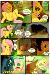 2016 absurd_res anus changeling comic english_text equine female fluttershy_(mlp) friendship_is_magic grass hair hi_res horse long_hair mammal masturbation multicolored_hair my_little_pony pink_hair pony pussy queen_chrysalis_(mlp) saurian_(artist) smile speech_bubble spread_legs spreading text  Rating: Explicit Score: 17 User: Crossbow1701 Date: May 02, 2016