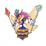 <3 abdomen antennae arthropod bee clothing crown female gloves insect kirby_(series) nintendo purple_eyes queen_sectonia scepter simple_background solo stinger video_games white_background wings wkar  Rating: Safe Score: 8 User: chdgs Date: October 24, 2015