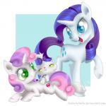 2015 cat cub cutie_mark equine feline female feral friendship_is_magic group horn mammal my_little_pony opalescence_(mlp) rarity_(mlp) swanlullaby sweetie_belle_(mlp) unicorn young  Rating: Safe Score: 2 User: 2DUK Date: November 20, 2015