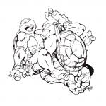 black_and_white brothers gay incest male michelangelo_(tmnt) monochrome plain_background raphael_(tmnt) reptile scalie sibling teenage_mutant_ninja_turtles tongue tongue_out turtle white_background   Rating: Explicit  Score: 3  User: Pokelova  Date: April 14, 2014