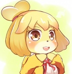 animal_crossing anthro blush brown_eyes canine cupen dog female isabelle_(animal_crossing) mammal nintendo solo video_games   Rating: Safe  Score: 0  User: Juni221  Date: March 01, 2014
