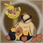 anus balls cervix erection female gaping gaping_pussy hariyama humanoid joe123123123 makuhita male nintendo not_furry overweight penis pokémon pokémon_(species) pussy spread_pussy spreading star video_games