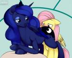 2014 blue_eyes blue_fur blue_hair blush cunnilingus cutie_mark duo equine female feral fetlocks fluttershy_(mlp) friendship_is_magic fur hair half-closed_eyes horn kloudmutt lesbian long_hair mammal my_little_pony oral oral_sex pegasus pink_hair princess_luna_(mlp) sex smile vaginal winged_unicorn wings yellow_fur   Rating: Explicit  Score: 32  User: lemongrab  Date: April 08, 2014