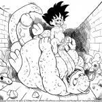 age_difference ahegao balls buyon cub dragon_ball foreskin human hyper interspecies licking looking_pleasured male male/male mammal monster navel nipples nude overweight penis prehensile_tongue shota size_difference skull slightly_chubby smudge_proof son_goku tongue tongue_out uncut young