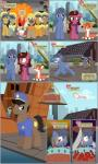 2015 bandage barrel blush brown_eyes building canine city clothing comic cutie_mark equine eyewear fan_character female fox gem ginger_hair gold green_eyes hair hard_hat helmet horn horse male mammal mayor mlp-silver-quill monocle my_little_pony necklace orange_hair police pony sara_bellum scarf smoke sword the_mayor_(powerpuff_girls) unicorn weapon   Rating: Safe  Score: 3  User: 2DUK  Date: March 14, 2015