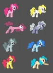 black_eyes blonde_hair blue_eyes blue_fur blue_hair brown_eyes earth_pony equine female feral fighting_is_magic friendship_is_magic fur g1 grey_fur grey_hair hair horse limestone_pie_(mlp) mammal mane6 marble_pie_(mlp) my_little_pony pink_eyes pink_fur pink_hair pinkie_pie_(mlp) pony purple_eyes red_hair surprise_(mlp) white_fur yellow_fur  Rating: Safe Score: 2 User: kokonoe Date: December 25, 2012