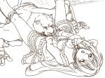 clothing duo emilie_rochefort feline female human jaguar king_(tekken) male mammal muscles sketch tekken wrestler カエル(・)(・)  Rating: Questionable Score: 2 User: H4CH1W4AN Date: March 02, 2014