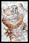 2012 anthro balls couple cuddling cute duo erection feline frottage hug leopard love male male/male mammal penis raitsh sex snow_leopard tiger  Rating: Explicit Score: 14 User: furmann Date: October 11, 2013