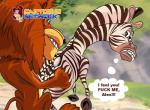 alex_the_lion dialog dreamworks english_text equine erection feline female interspecies lion looking_back madagascar male mammal marty_the_zebra penis sex text zebra   Rating: Explicit  Score: -4  User: trolll  Date: March 11, 2014