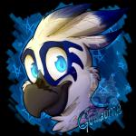 ambiguous_gender anthro avian beak bird character_name feathers fur guillaume_larson hair headshot_portrait lizheru looking_at_viewer portrait smile solo toonyRating: SafeScore: 14User: Cat-in-FlightDate: January 07, 2017