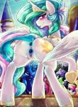 2014 anal anal_penetration animated anus blush cutie_mark dildo dimwitdog equine female feral friendship_is_magic group horn leaking looking_at_viewer mammal my_little_pony open_mouth penetration princess_celestia_(mlp) princess_luna_(mlp) public pussy pussy_juice semi_incest sex_toy solo_focus vaginal vaginal_penetration winged_unicorn wings  Rating: Explicit Score: 24 User: Robinebra Date: January 03, 2015