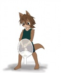 anthro canine child clothed clothing cub dog male mammal peeing penis simple_background solo uncut urinal urine white_background young 蛸山葵つるべ  Rating: Explicit Score: 1 User: israfell Date: April 20, 2016