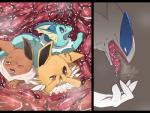 29℃ ambiguous_gender avian blue_eyes blush brown_eyes canine eevee eeveelution feral group internal jolteon legendary_pokémon lugia mammal nintendo one_eye_closed pokémon saliva squint stomach tearing_up tongue tongue_out vaporeon video_games vore yellow_eyes  Rating: Questionable Score: 2 User: Vapor.exe Date: September 18, 2014