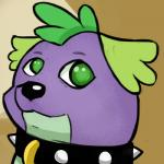 canine collar dog doge friendship_is_magic fur green_eyes livesmutanon mammal meme my_little_pony purple_fur spike_(mlp)   Rating: Safe  Score: -1  User: Lunaz  Date: April 12, 2014