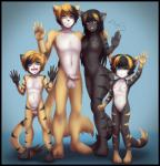2016 3_toes 5_fingers :3 absurd_res age_difference anthro balls black_border black_fur black_hair black_nose blonde_hair blue_background blue_eyes border breasts brother brown_fur casual_nudity cat catninja13 child cub daughter erection family family_photo fangs father father_and_daughter feet feline female flat_chested fur group hair happy hi_res horny humanoid_penis implied_incest incest loli long_hair looking_at_viewer male mammal mature_female mature_male mother mother_and_son multiple_tails navel nipples nude one_eye_closed open_mouth parent partially_retracted_foreskin penis pink_nose pussy rajak rikka sheela short_hair shota sibling simple_background sister size_difference small_penis smile son standing teeth toes tongue uncut waving wink young  Rating: Explicit Score: 34 User: Veriaenom Date: February 06, 2016