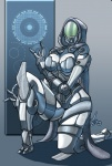 3_fingers alien bodysuit breasts chubby enviro-suit female jaeh mass_effect quarian sci-fi skinsuit solo   Rating: Safe  Score: 7  User: slydevious  Date: November 05, 2011