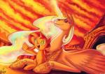2015 blue_eyes crown duo equestria_girls equine female friendship_is_magic glowing horn jowybean magic mammal my_little_pony princess_celestia_(mlp) sparkles sunset sunset_shimmer_(eg) unicorn winged_unicorn wings young  Rating: Safe Score: 4 User: 2DUK Date: October 24, 2015