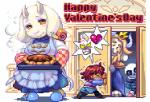 <3 ambiguous_gender angry animated animated_skeleton anthro apron asgore_dreemurr bone boss_monster caprine clothing crown cute digital_media_(artwork) female food fur gastropod goat grin holidays human humanoid looking_at_viewer loop low_res male mammal pie pixel_(artwork) pixel_animation protagonist_(undertale) sans_(undertale) shigeruarsw simple_background skeleton slippers smile snail text toriel undead undertale valentine's_day video_games white_background white_fur yellow_eyes  Rating: Safe Score: 30 User: MissChu Date: March 17, 2016