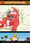 anthro avian beach blaziken breasts comic crossover cum digimon digital_media_(artwork) droll3 duo female nintendo nipples nude pokémon pussy renamon seaside video_games   Rating: Explicit  Score: 26  User: FwP  Date: February 15, 2015