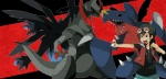 claws dragon garchomp haxorus human hydreigon male nintendo pokémon shiny video_games   Rating: Safe  Score: 1  User: Athony15  Date: March 19, 2013