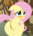 2015 an-tonio animal_genitalia anus blue_eyes blush butt cute cutie_mark dock equine equine_pussy female feral fluttershy_(mlp) friendship_is_magic hair horse looking_at_viewer looking_back mammal my_little_pony pink_hair pony pussy pussy_juice rear_view shutterflyeqd smile solo  Rating: Explicit Score: 20 User: Egekilde Date: September 01, 2015