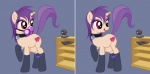 camwhore collar equine female feral gas_mask hair horse jessica_elwood my_little_pony nude original_character panties pony purple_hair red_eyes solo stockings tablet teats underwear webcam   Rating: Questionable  Score: 5  User: Amberdrk  Date: January 11, 2013