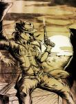 2014 anthro boneitis canine cowboy_hat cowgirl coyote female gun hat holding holding_weapon mammal ranged_weapon revolver solo sunset weapon western   Rating: Safe  Score: 8  User: TonyLemur  Date: September 29, 2014