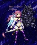 2009 animal_humanoid anthro black_fur black_hair black_scales blue_eyes blue_feathers breasts brown_eyes clothed clothing dragon duo english_text fan_character feathers female fur furred_dragon gairunn hair heterochromia humanoid legendz legwear livian male muscular navel nude open_mouth pink_fur pink_hair scales scalie skimpy smile teeth text tigerlilylucky  Rating: Safe Score: 0 User: GameManiac Date: October 05, 2015