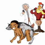 4chan albert_einstein all_fours all_time_greatest_game_sidekick alyx_vance bestiality breasts bruised camera canine crossover crying doggystyle dogmeat fallout female feral forced from_behind_position gamespot group half-life headband hi_res human human_on_feral humor interspecies launchpad_mcquack male male/female mammal rape sex spectators tears unknown_artist video_games  Rating: Explicit Score: -4 User: Simski Date: December 20, 2011