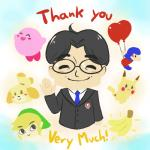 <3 alien animal_crossing animated anthro balloon_fight banana black_hair black_nose blonde_hair blush canine cslucaris dog english_text eyewear female food fruit fur glasses group hair hair_ornament happy human isabelle_(animal_crossing) kirby kirby_(series) male mammal necktie nintendo pikachu pokémon rip_iwata rodent satoru_iwata short_hair smile suit text the_legend_of_zelda toon_link video_games yellow_fur  Rating: Safe Score: 77 User: Cαnε751 Date: July 13, 2015