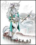 2004 anthro armor blood breasts clothed clothing death equine female fetlocks fur gore hair hooves horn horse human jewelry long_hair looking_down mammal markie melee_weapon polearm sculpture shield simple_background skimpy staff statue stomping sword unicorn weapon white_background white_eyes white_fur white_hair  Rating: Questionable Score: -2 User: GameManiac Date: April 15, 2015