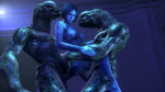 3d_(artwork) alien anal anal_penetration animated blue_skin cortana digital_media_(artwork) double_penetration female group group_sex halo halo_(series) humanoid male male/female noname55 penetration sangheili sex sound stand_and_carry_position standing threesome translucent vaginal vaginal_penetration video_games