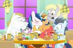 2015 apple big_macintosh_(mlp) blonde_hair blue_eyes blue_hair blush bottle bulk_biceps_(mlp) burger butter cider cup cutie_mark derp_eyes derpy_hooves_(mlp) dm29 doughnut dragon drunk equine eyes_closed female flash_sentry_(mlp) food freckles friendship_is_magic fruit gold green_eyes group hair horn hug male mammal my_little_pony pancake pegasus pie piercing plate red_eyes scalie shining_armor_(mlp) sleeping soarin_(mlp) spike_(mlp) straw syrup table unicorn wings wonderbolts_(mlp)   Rating: Safe  Score: 6  User: 2DUK  Date: February 20, 2015