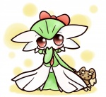 blush bow clothing concave_(artist) doll dress female gardevoir green_hair hair humanoid lagomorph looking_at_viewer lopunny mammal nintendo open_mouth pokémon rabbit red_eyes solo video_games  Rating: Safe Score: 6 User: DeltaFlame Date: October 18, 2014