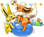 :3 acid angry ball dots eevee eeveelution eyes_closed flareon group jolteon kemono nintendo pokémon simple_background vaporeon video_games yelling 宇月まいと  Rating: Safe Score: 8 User: Komaru Date: June 04, 2015
