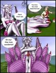 2003 anthro bra breasts brown_hair claws clothed clothing comic dragon duo feet female foot_fetish foot_focus hair horn human male mammal markie open_mouth outside painting pink_scales purple_hair purple_scales scalie sitting size_difference skirt teeth toe_claws underwear white_eyes wings   Rating: Safe  Score: -1  User: GameManiac  Date: April 09, 2015