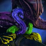 3d_(artwork) alien alien_(franchise) anal anal_penetration anthro arthropod cgi claws close-up cowgirl_position cum detailed digital_media_(artwork) duo erection hi_res insect interspecies leaking male male/male mutual_penetration on_top penetration penis purple_body salireths sex slimy straddling unusual_penis xenomorph yellow_body  Rating: Explicit Score: 6 User: zergrush Date: January 17, 2016