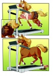 ambiguous_gender edmol equine horse transformation treadmill   Rating: Questionable  Score: 5  User: Mark111  Date: September 18, 2012