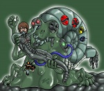 2013 corruption digital_media_(artwork) duo_focus force_feeding forced gastropod group monster multi_head multiple_mouths reptile scalie slime snail snake stonetouch super_sentai transformation  Rating: Questionable Score: -3 User: tartcore Date: July 17, 2015