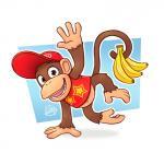 "banana barefoot brown_fur diddy_kong donkey_kong_(series) food fruit fur luigil male mammal monkey nintendo primate signature solo video_games  Rating: Safe Score: 1 User: Cαnε751 Date: June 23, 2015"""