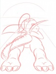american_dragon:_jake_long beach cub disney dragon female haley_long line_art looking_at_viewer seaside teasing young   Rating: Safe  Score: 0  User: NegaMajora  Date: March 02, 2014